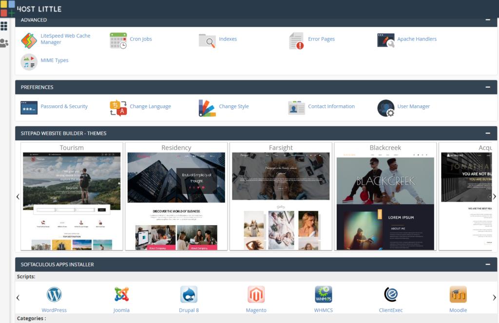 Website Hosting cPanel